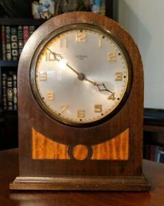 Antique Vintage Gilbert 1807 Round Top Shelf Mantel Clock parts / repair