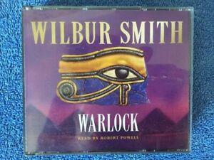 WILBUR SMITH – WARLOCK – 4 X CD AUDIO BOOK - ABRIDGED