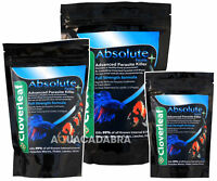 Cloverleaf Absolute Parasite Killer-For Ponds & Freshwatrer Aquariums Koi Pond