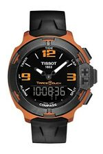 NEW TISSOT T-RACE TOUCH BRONZE ALUMINUM T081.420.97.057.03 T0814209705703