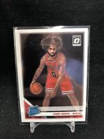 2019-20 Panini Donruss Optic Coby White RC Bulls Rated Rookie #180 Rookie K91