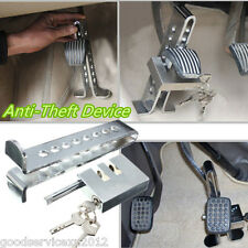 Chrome Stainless Steel Vehicles Brake 8 Holes Lock Clutch Anti-Theft Device Kit