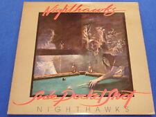 NIGHTHAWKS - side pocket shot     LP 1977