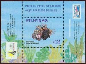 Philippines #2464a (Indonesia 96) Aquarium Fish sheet (Never Hinged) cv$4.00