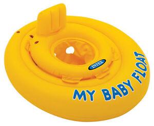 Intex My Baby Float Swimming Aid Swim Seat 6-12 months old - Fast Free UK Post