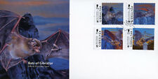 Gibraltar 2017 FDC Bats of Gibraltar WWF 4v Set Cover Bat Wild Animals Stamps