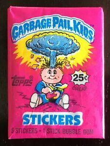 1985 Topps GARBAGE PAIL KIDS Series 1 Wax Pack