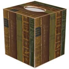 Tissue Box Cover Square Bathroom Accessories Dispenser Holder Decorative Books
