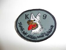 b3865 Iraq Military K9 with Arab script dog patch IR3B