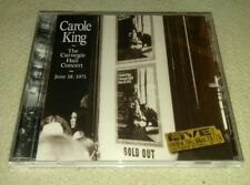 Carole King: Carole King The Carnegie Hall Concert June 18, 1971 Audio CD RARE