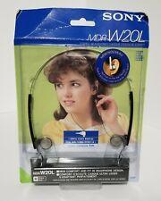 NEW Vintage Sony MDR-W20 TURBO Dynamic Stereo Headphones JAPAN Rare NOS