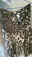 LADIES ANIMAL PRINT BEADED SKIRT BY LIZ JORDAN BRAND NEW SIZE 14 RRP $129.95