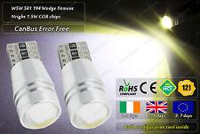 2x CanBus LED No Error Free HID White 194 T10 w5w 501 BMW Angel Eyes E60 E61