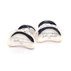 Tiffany & Co. Estate Cufflinks Sterling Silver 12.226 Gr TIF14