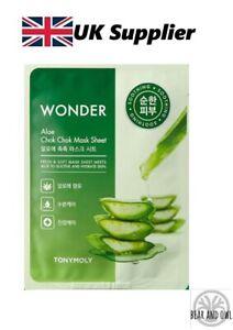 Wonder Chok Chok Mask Sheet – ALOE by TonyMoly [UK Supplier]