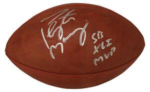 Peyton Manning Autographed Indianapolis Colts SB XLI Football MVP FAN 29868