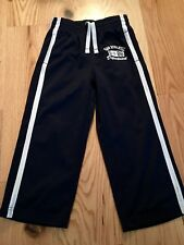 GapKids Boys Athletic Pants ~ Size Xs ~ Navy w/ Stripe ~ Excellent Condition/Gap