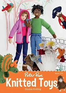 Peter Pan Knitted Toys DK Book No. 374