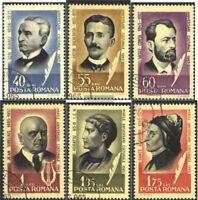 Rumänien 2396-2401 (kompl.Ausg.) gestempelt 1965 Persönlichkeiten