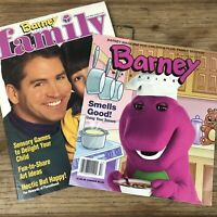 Barney Family Magazine Fall 1995 Section 1 & 2 Vintage Genuine **READ**