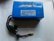 e bike electric  Softpack Battery Li-Ion  36V 10S5P 10.4Ah Sanyo  on/off