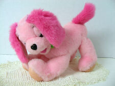 """Mattel 2001 Barbie Pink Puppy Dog Plush 10"""" - * NO SOUND For PARTS or REPAIR*"""