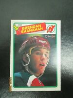 1988-89 O-Pee-Chee #122 Brendan Shanahan RC NMMT New Jersey Devils 88/89 OPC