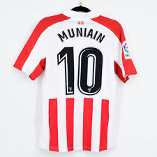 2017-18 Athletic Club Bilbao Home Shirt Player Issue #10 MUNIAIN Jersey