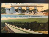 Vintage Postcard>1940>America's Dream Highway>PA Turnpike>PA
