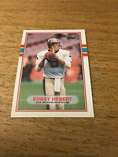Bobby Hebert  Saints  1989 Topps #162