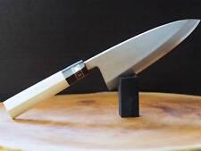 """Sakai Jikko """"Ginsan"""" Silver-3 Steel Deba Fish Filleting Knife 16.5cm"""