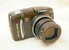 Canon Powershot SX120 IS Digital 10MB x10 Zoom Digital Camera +Accessories