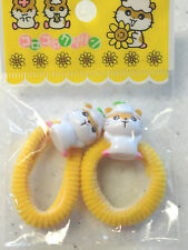 Japanese Asian Hamster Hairbands Hair Elastics Bands