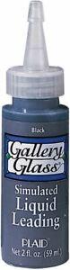 Gallery Glass Liquid Leading 2oz-Black -16025