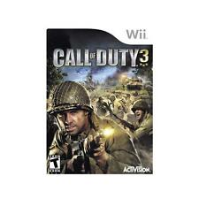 Nintendo Wii PAL version Call of Duty 3