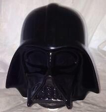 "Star Wars *DARTH VADER* Helmet Ceramic Money Coin Piggy Bank  7"" x 8"" Brand New"