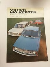 Volvo 140 Series Advertisement Full Color Brochure 1960s