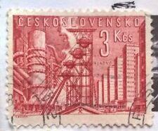 Czechoslovakia stamps - Kladno Steel Mills 1961 3 koruna - FREE P & P
