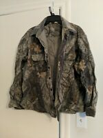 Walls Hunting Shirt Mens Size XL Camouflage Print Button Advantage Timber Top
