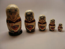 Nesting Doll NHL Team Atlanta Thrashers Tamer Schwab Ferraro Buchberger Clark