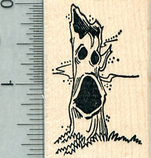 Halloween Haunted Tree Rubber Stamp E31022 WM