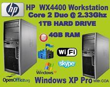 PCs de sobremesa y todo en uno HP Intel Core 2 4GB