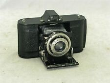 Agfa Ansco Memo Folding Camera  c 1939 Without Shoe with 2 Cassettes and Case