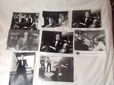 """ALAIN DELON - CATHERINE ROUVEL - """" BORSALINO AND Co """" - LOTE 8 FOTOS DE PRENSA"""