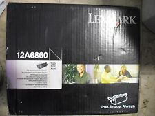 New ! Genuine Lexmark T620 T622 X620 Toner Cartridge 12A6860