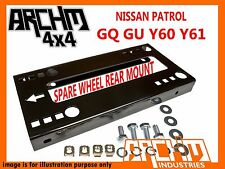 "HD SPARE REAR WHEEL CARRIER ASSEMBLY 35"" TYRE TO SUIT NISSAN PATROL GQ GU WAGON"