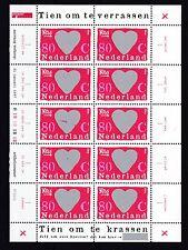 Niederlande 1997 postfrisch Kleinbogen Satz MiNr. 1607