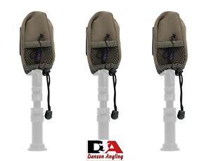 3 x Avid Carp A-Spec Alarm Pouch A0430043 New Avid Bite Alarm Covers