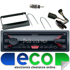 Ford Mondeo 96-02 SONY MP3 USB Aux Ipod Car Radio Steering Interface Kit FD01