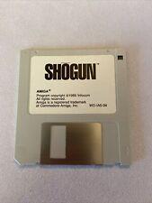 Vintage Amiga 3.5 Hard Disk Shogun game
